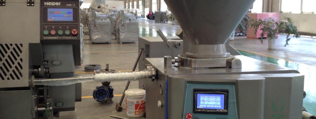Современная линия по производству колбасных изделий