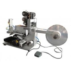Полуавтоматический этикетировщик для бутылочек HL-50 c датером