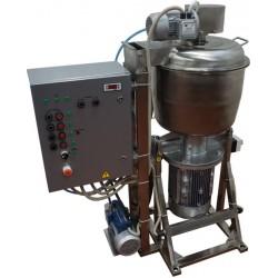 Куттер (вакуумный, регулируемый, с механизированными мешалкой и выгрузкой) ИПКС-032-50Р(Н)