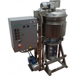 Куттер (вакуумный, с подогревом, механизированными мешалкой и выгрузкой) ИПКС-032-50П(Н)