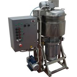 Куттер (вакуумный, регулируемый, с подогревом, механизированными мешалкой и выгрузкой) ИПКС-032-50РП(Н)