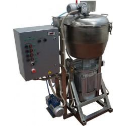 Куттер (вакуумный, с механизированными мешалкой и выгрузкой) ИПКС-032-80(Н)