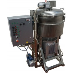 Куттер (вакуумный, с подогревом, механизированными мешалкой и выгрузкой) ИПКС-032-80П(Н)