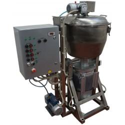 Куттер (вакуумный, регулируемый, с механизированными мешалкой и выгрузкой) ИПКС-032-80Р(Н)