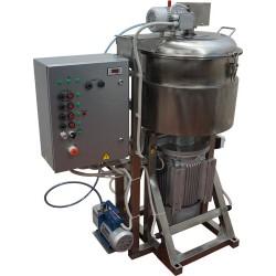 Куттер (вакуумный, регулируемый, с подогревом, механизированными мешалкой и выгрузкой) ИПКС-032-80РП(Н)