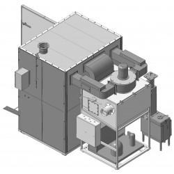 Камера для вяления, сушки и холодного копчения рыбы КСХК-250
