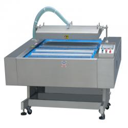 Автоматическая вакуум упаковочная машина конвейерного типа HVB-020F/2 (DZ-1020F)